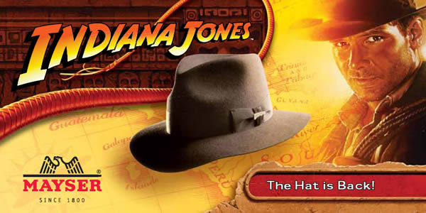Indiana Jones - Die Hut Kollektion zum Film